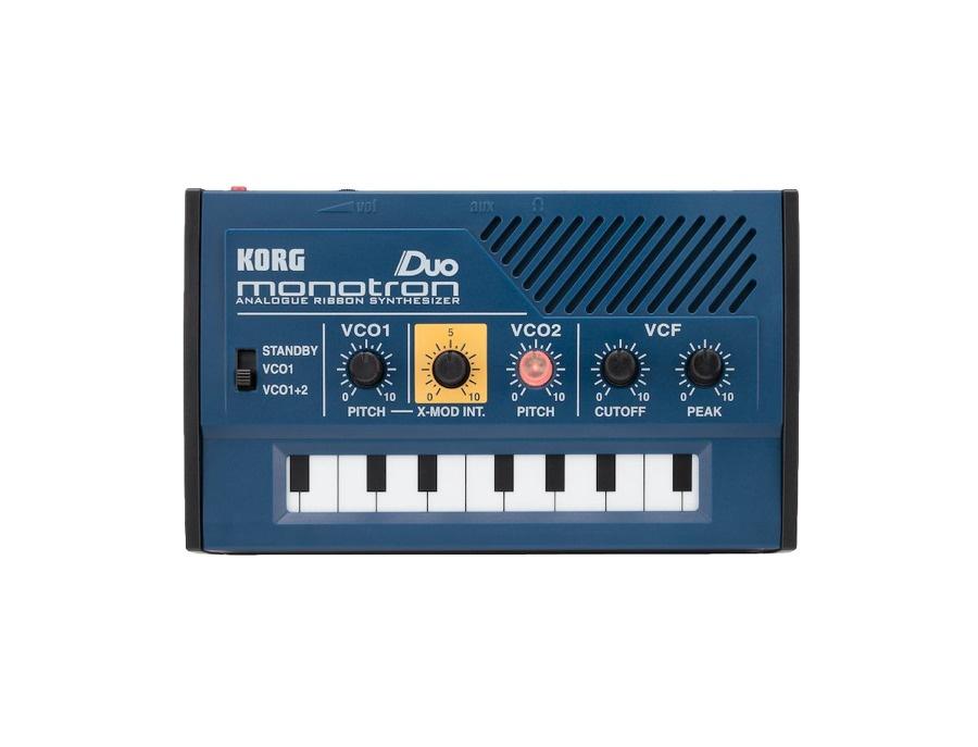 Korg monotron duo aanalog ribbon synthesizer xl