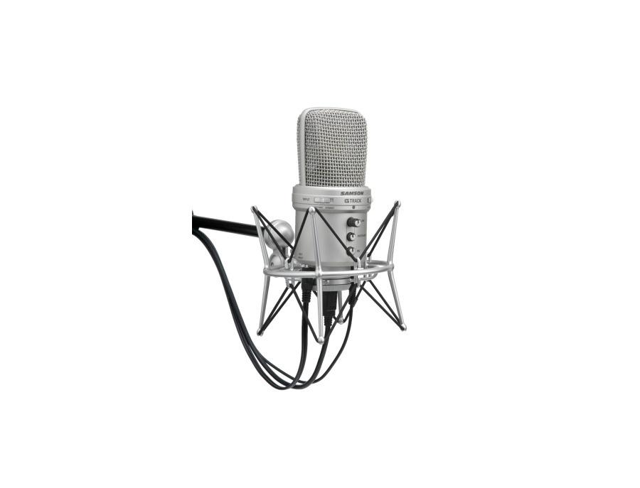 Samson G-Track USB Condenser Microphone with Audio Interface