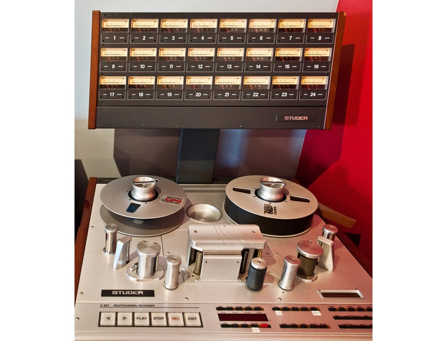 Studer A827 24 Track Analog Tape Machine