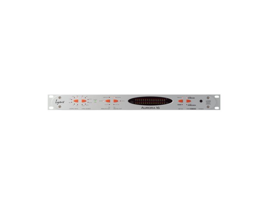 Lynx aurora 16 16 channel 24 bit 192khz a d d a converter xl