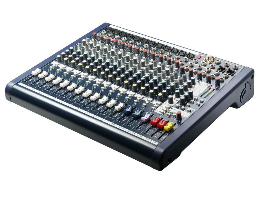 Soundcraft mfx12 xl