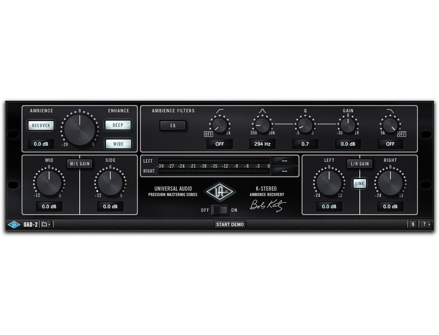 Uad precision k stereo ambience recovery xl