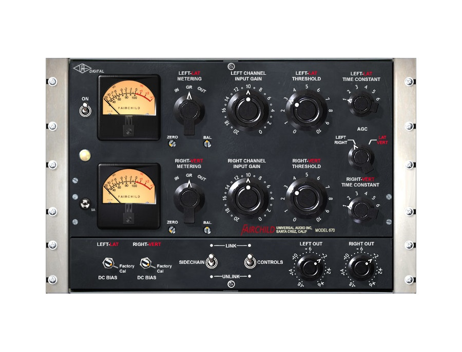 Fairchild® 670 Compressor Plug-In