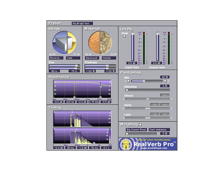 RealVerb Pro Custom Room Modeler Plug-In