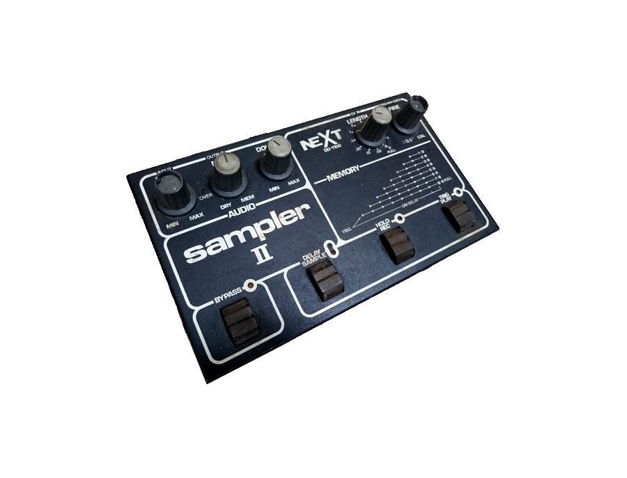 Next dd 1100 sampler ii xl