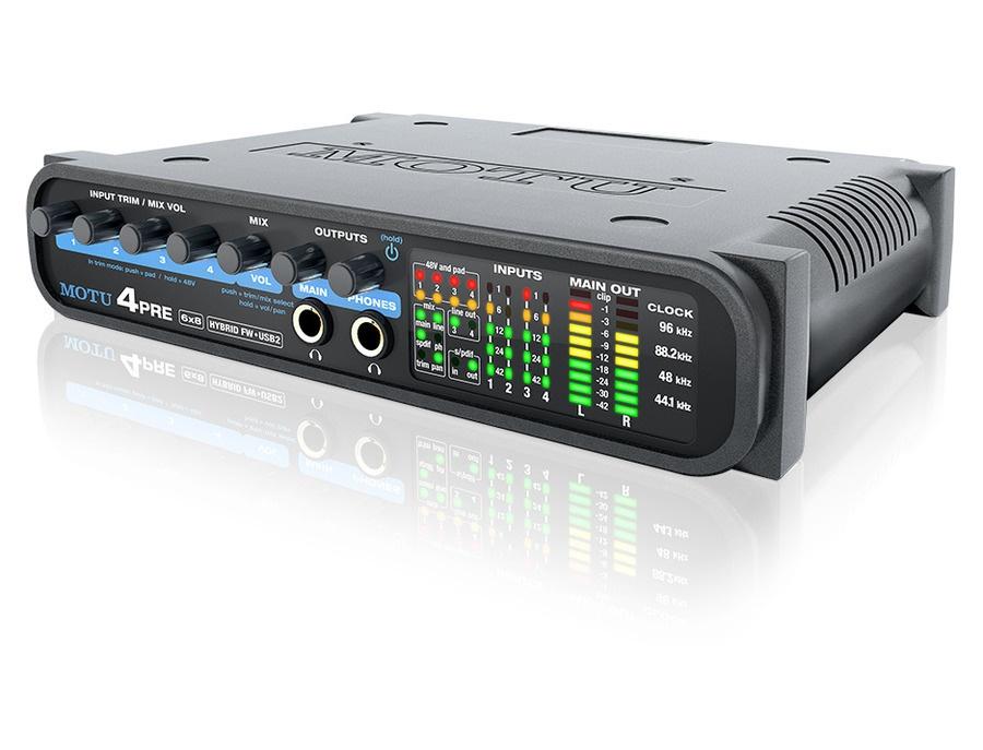 MOTU 4pre audio interface