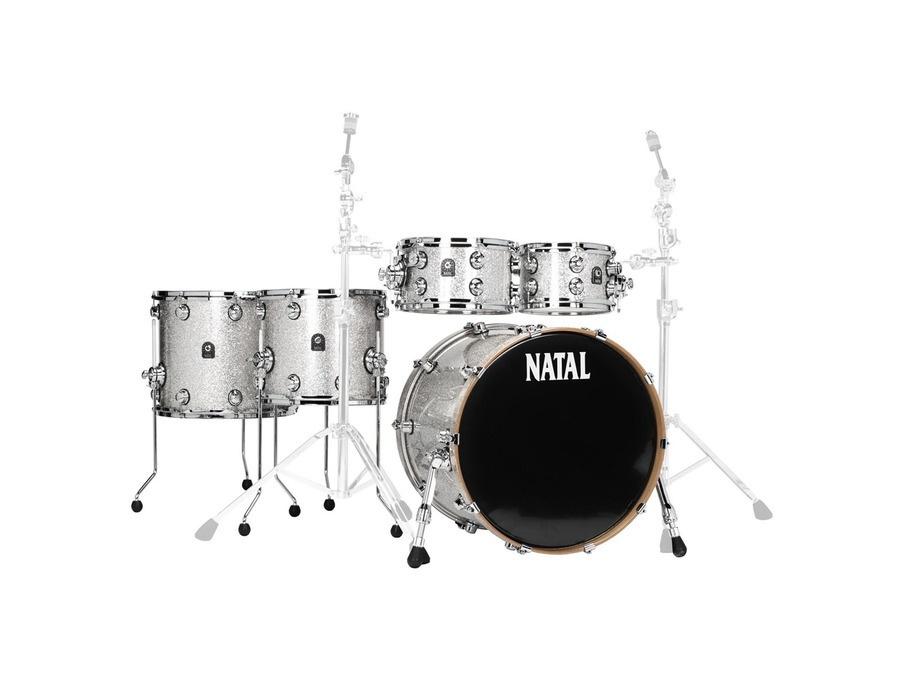 Natal Originals Maple 22 Silver Sparkle Drum Set Reviews & Prices ...