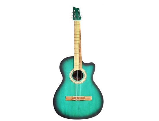 Classical Guitar Green (Old)