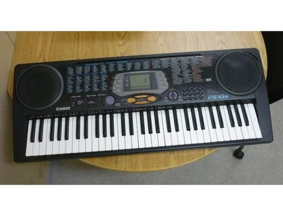 Casio CTK-533 Keyboard