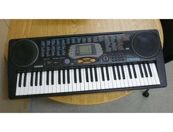 Casio ctk 533 keyboard xl