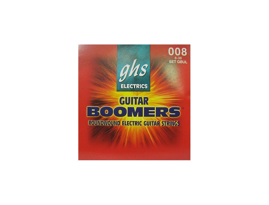 GHS GBUL 8-38 008 Ultra Light Roundwound Electric Guitar Boomers Strings