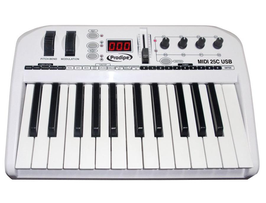 Prodipe MIDI USB Keyboard 25C