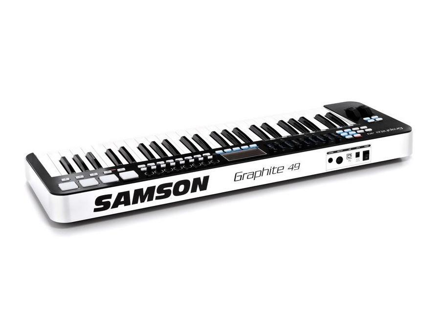 Samson Graphite 49 MIDI Keyboard Reviews & Prices