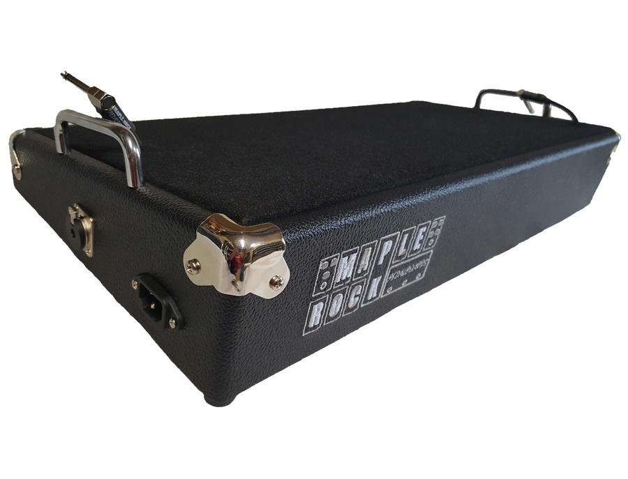 Maple rock pedalboards 12 x24 standard series pedalboard xl