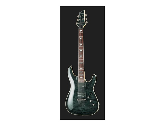 schecter omen extreme 6 stblk reviews prices equipboard. Black Bedroom Furniture Sets. Home Design Ideas