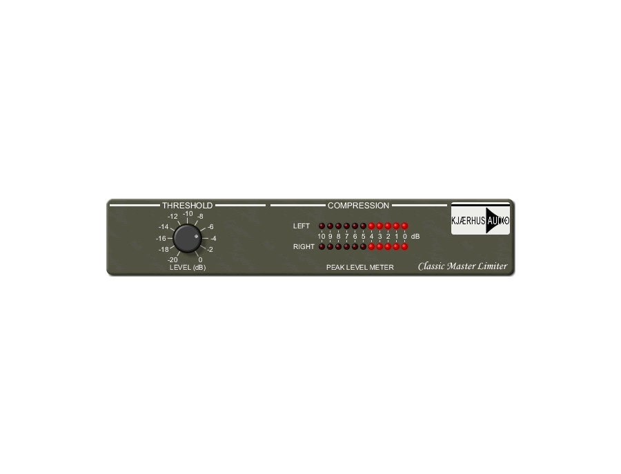 Kjaerhus Audio Classic Master Limiter (Free VST Plugin
