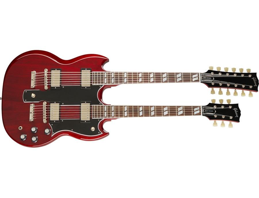 Gibson eds 1275 double neck electric guitar xl