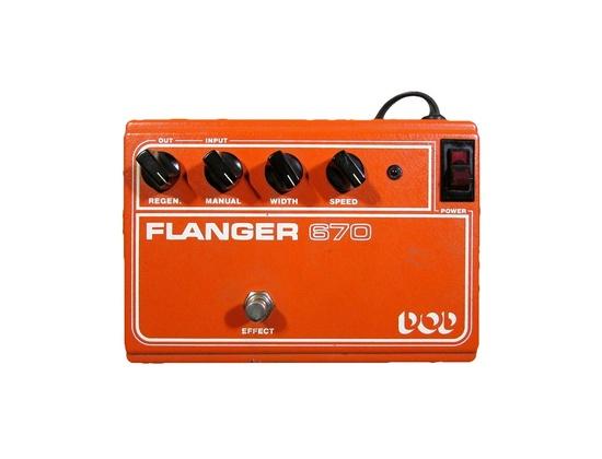 DOD Flanger 670 Guitar Effect Pedal