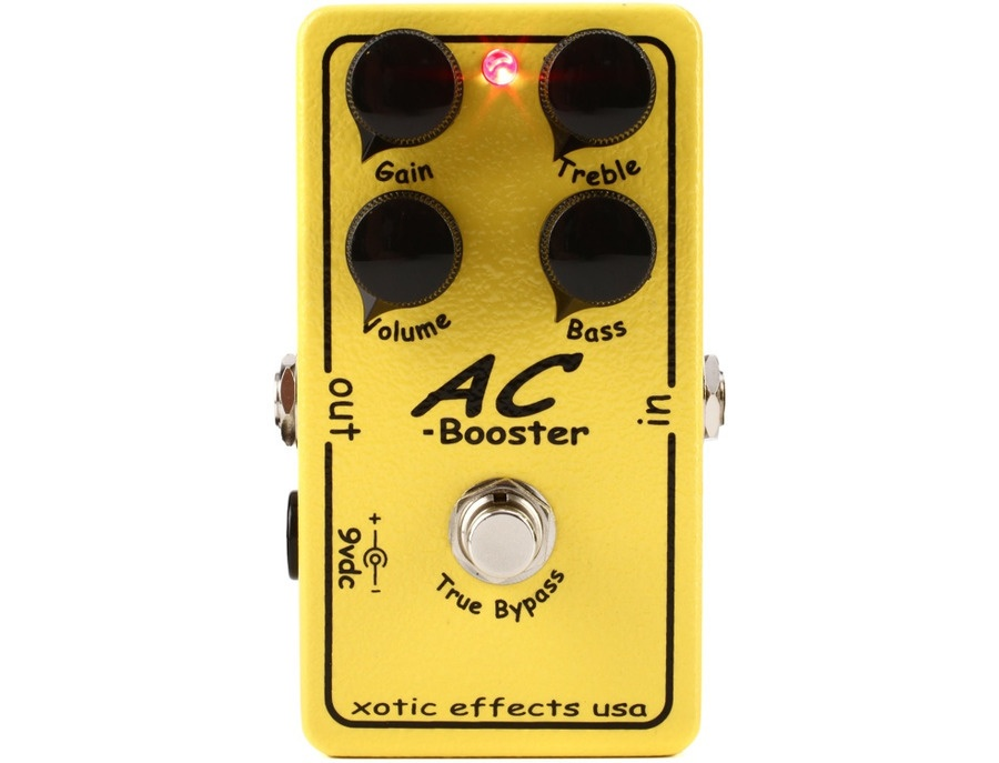 Xotic effects ac booster xl