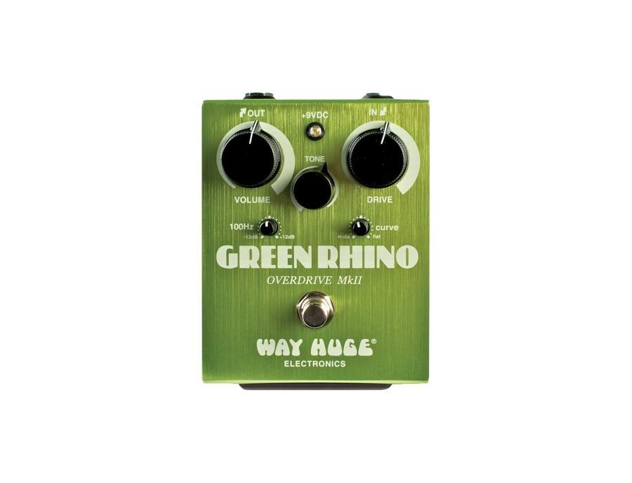 Way Huge Electronics Green Rhino MkII Overdrive Guitar Effects Pedal