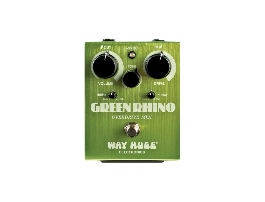 Way Huge Electronics Green Rhino MkII Overdrive Guitar Effects Pedal