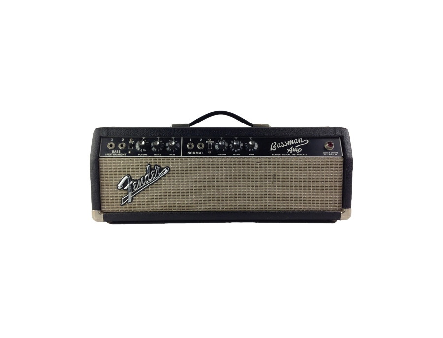 Fender bassman ab165 amp xl