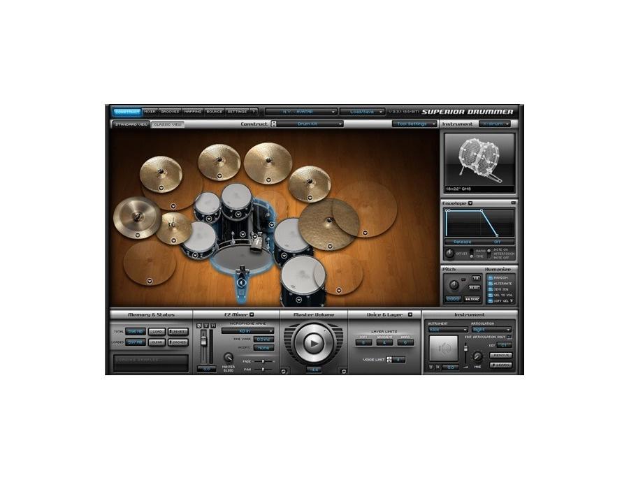 Toontrack superior drummer 2 0 xl
