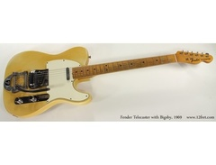 Fender custom telecaster with bigsby s