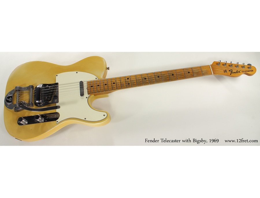 Fender custom telecaster with bigsby xl