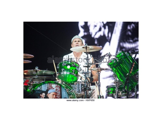 Custom DW Green Acrylic Drumset