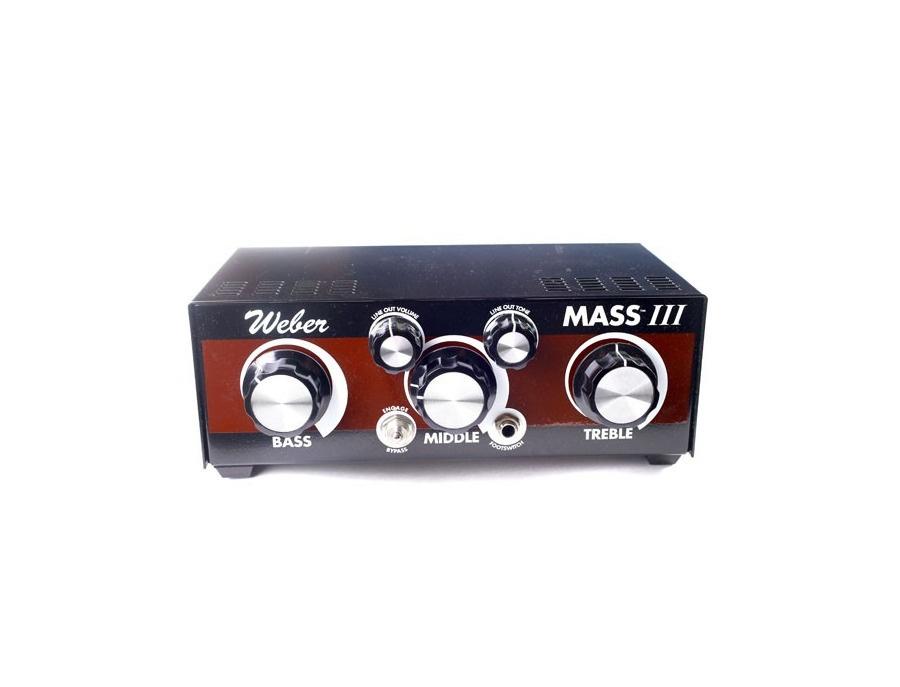 Weber mass iii attenuator xl