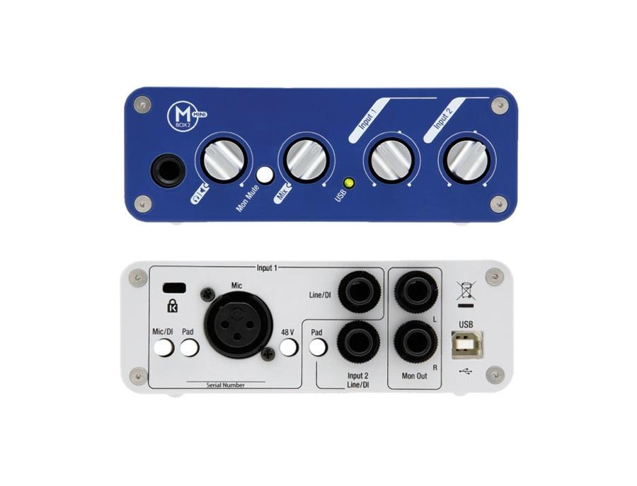 Digidesign mbox 2 mini portable usb audio interface xl