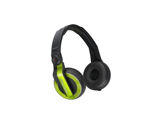Pioneer HDJ-500 DJ Headphones (Green)