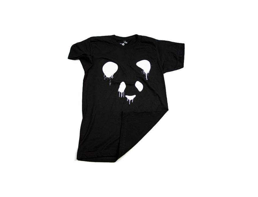 Panda Funk T-Shirt - Black
