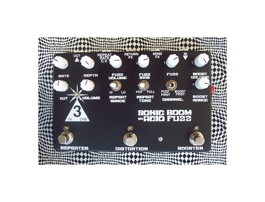 Acid fuzz sonic boom silicon limited edition xl