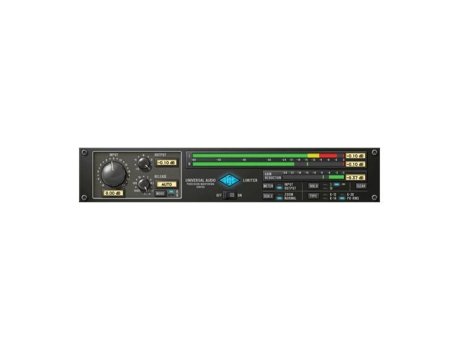 Universal audio precision limiter plugin xl