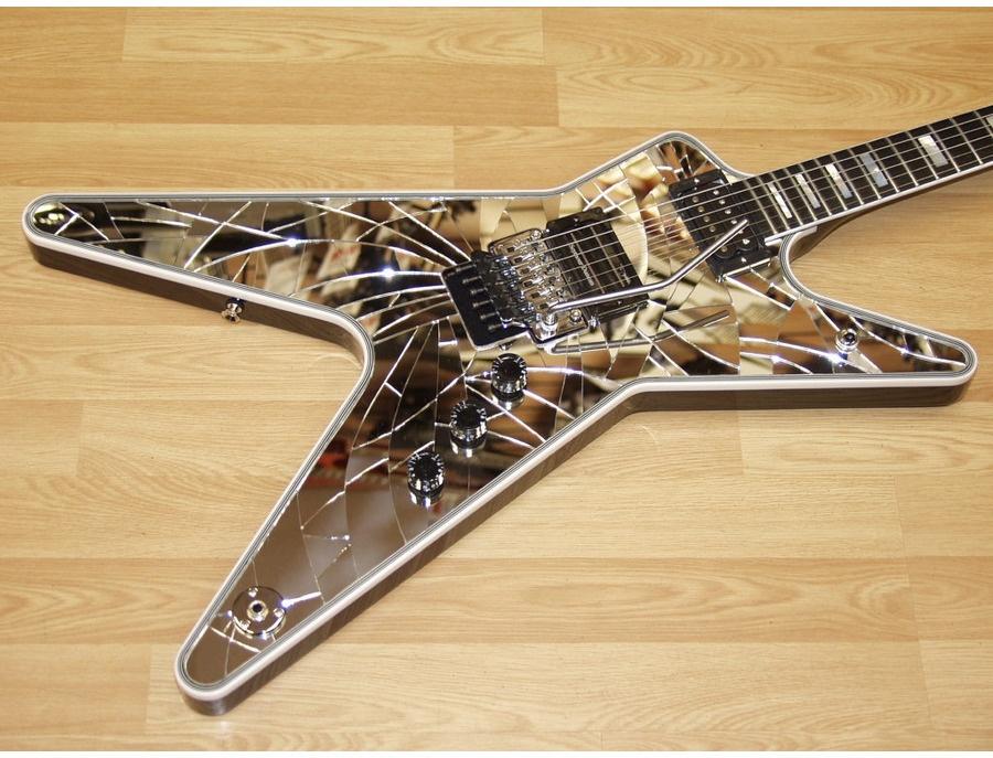 dean ml shattered mirror guitar - wiring diagrams dean dimebag ml  wiring diagram on