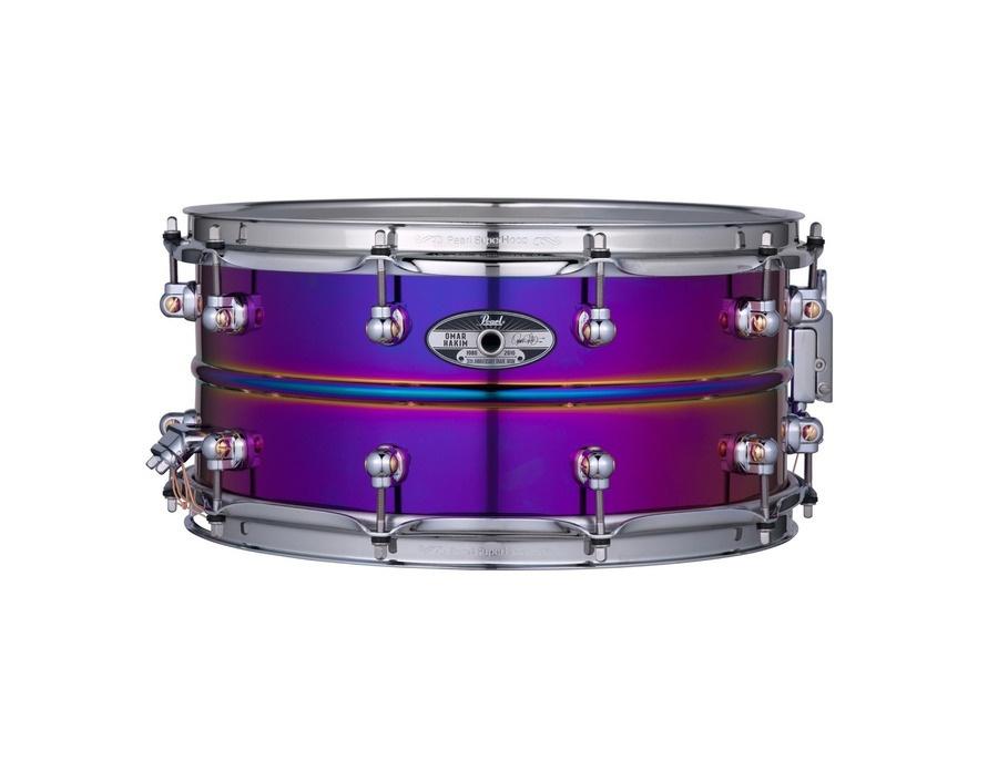 Pearl omar hakim 30th anniversary ltd signature snare drum xl