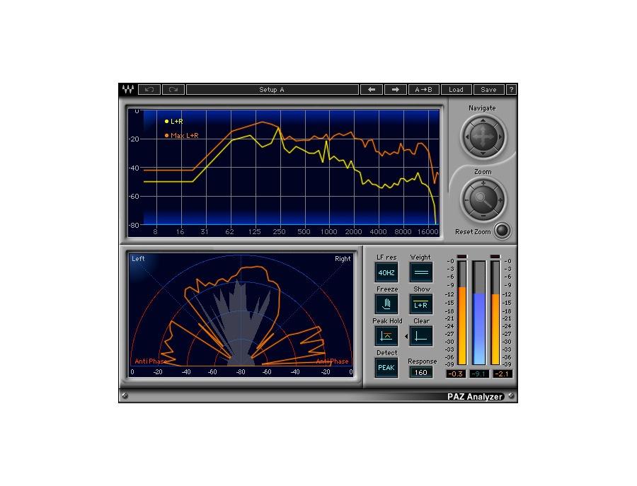 Waves paz analyzer plugin xl