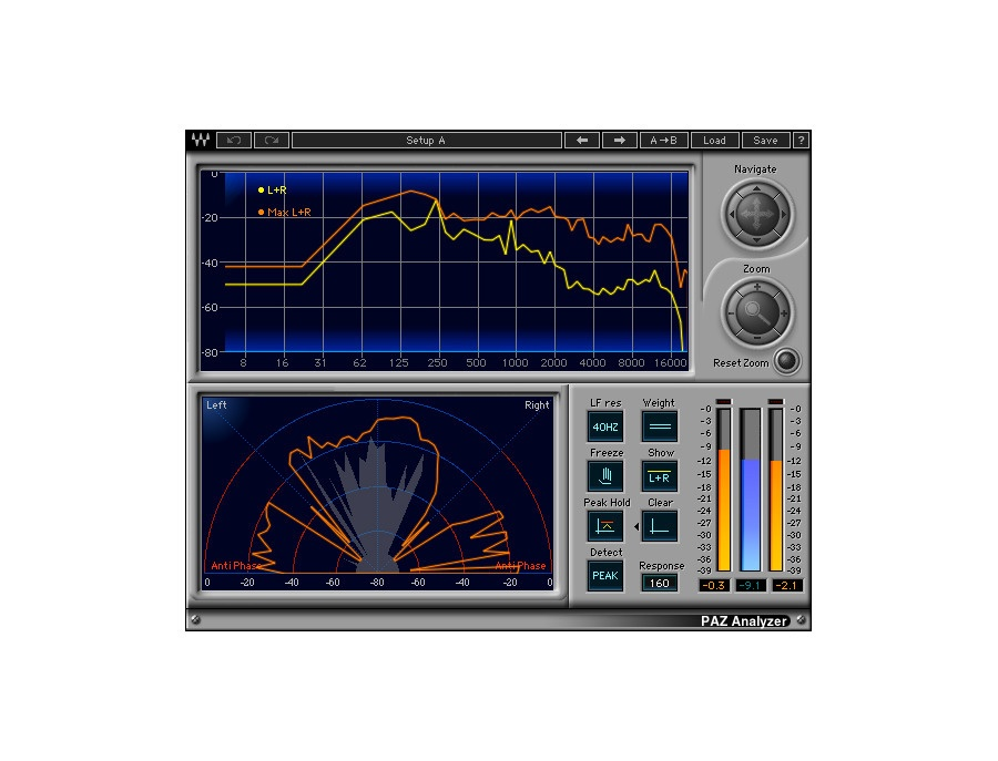 Waves PAZ Analyzer Plugin