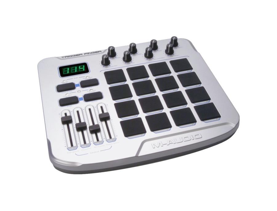 M audio trigger finger midi controller xl