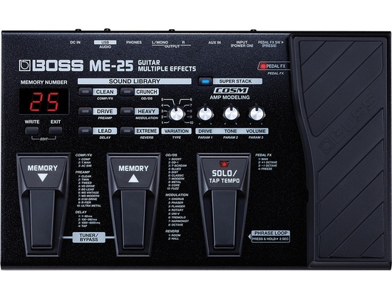 Boss ME25 Guitar Multi-Effects Pedal