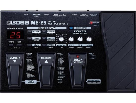 Boss ME25 Guitar Multi-Effects Pedal