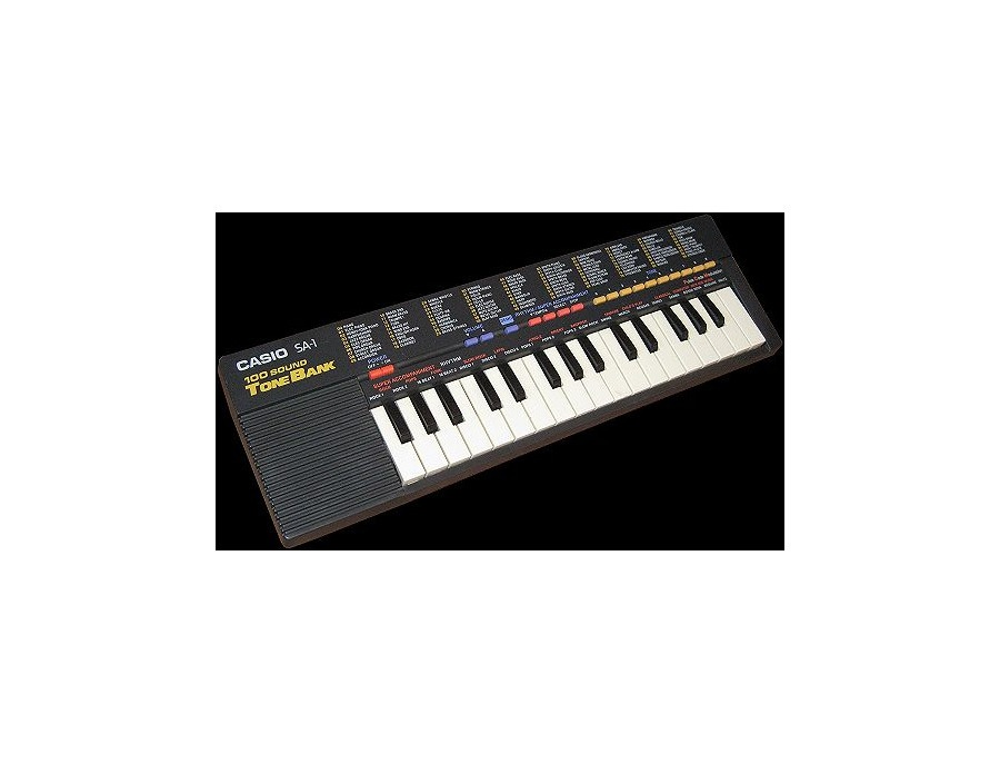 Casio sa 1 100 sound tone bank xl