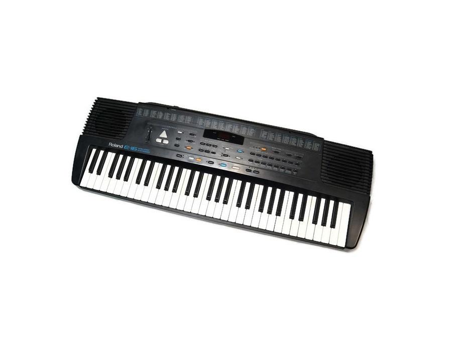 Roland e 16 intelligent synthesizer xl