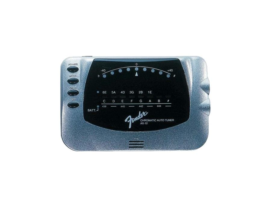 Fender ax 12 chromatic tuner xl