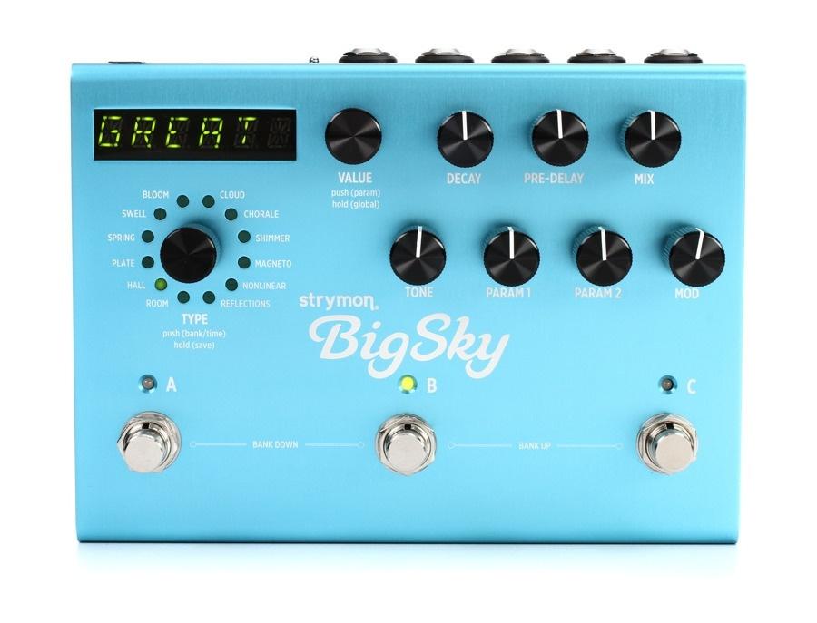 Strymon bigsky reverberator xl