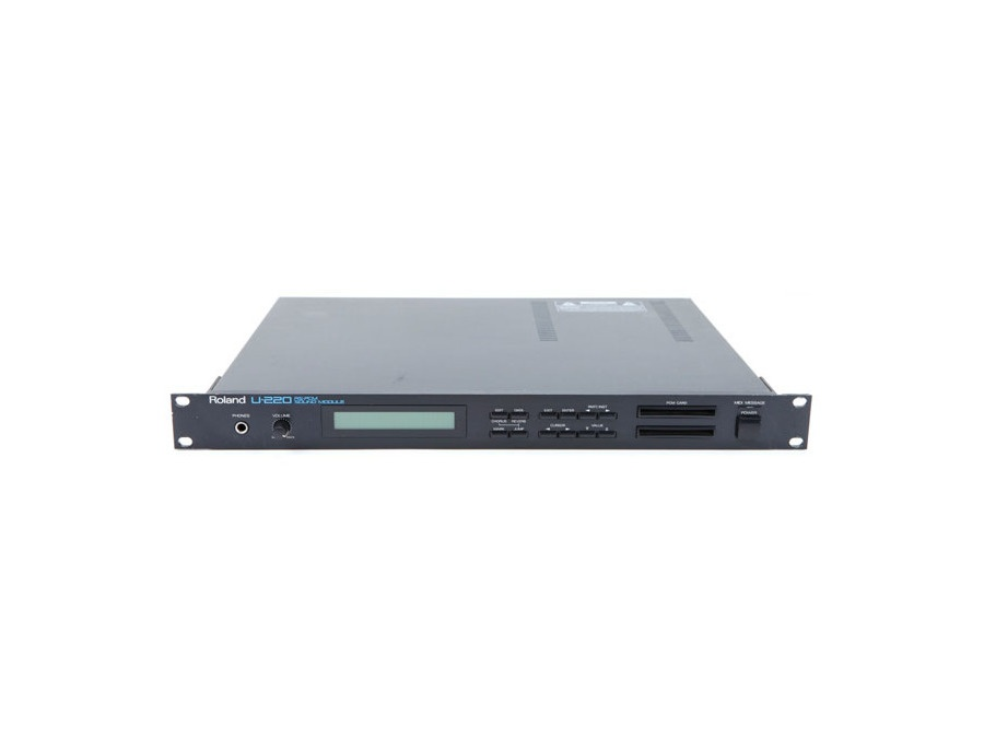 Roland u 220 rs pcm sound module xl