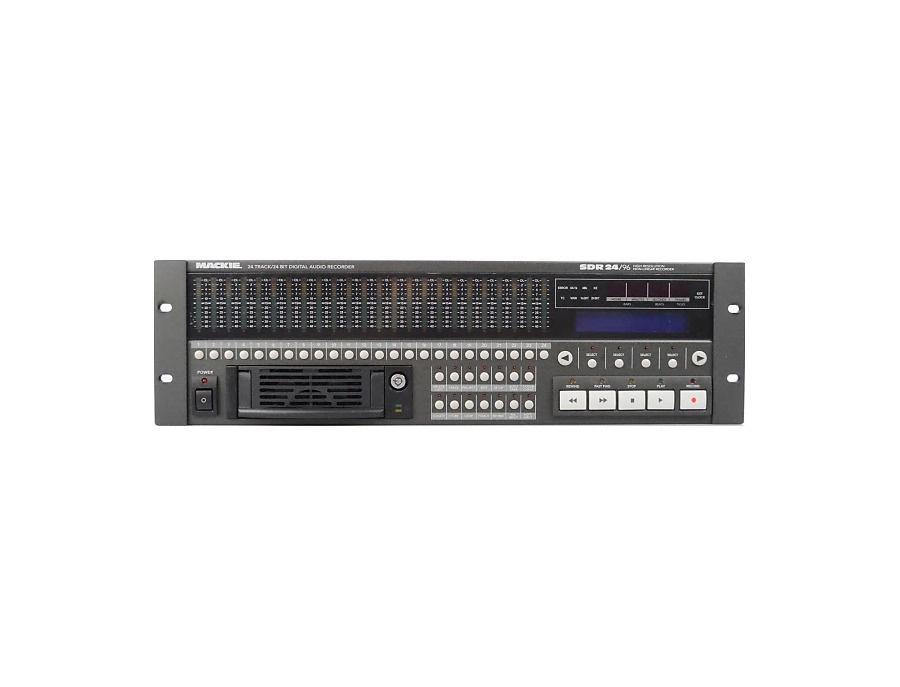 Mackie sdr 24 96 multitrack hard disk recorder xl