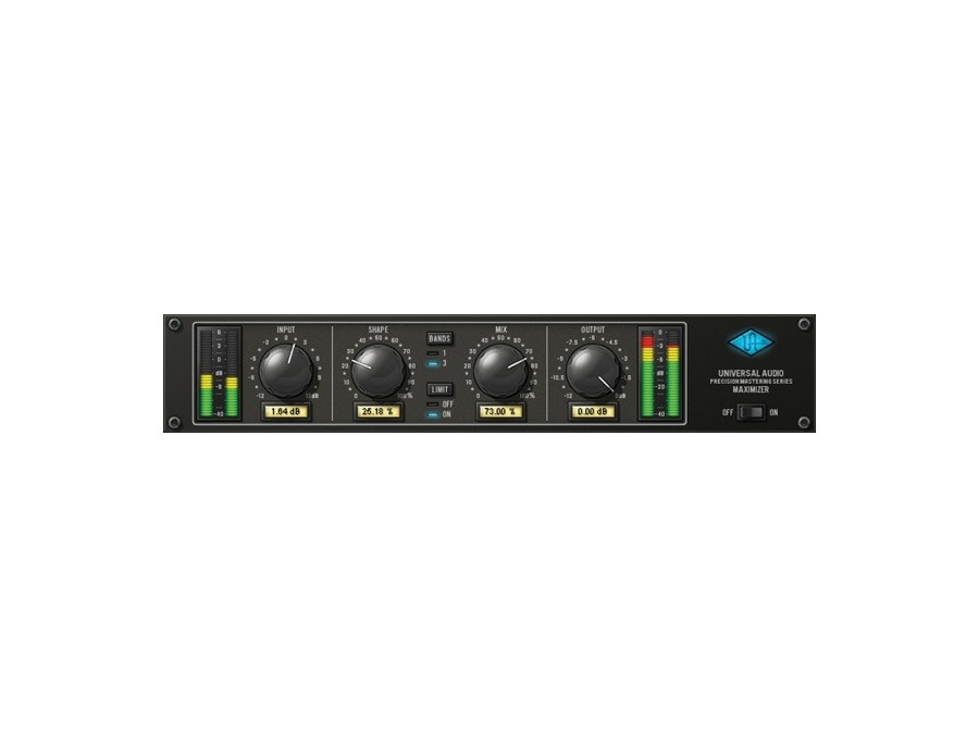 Universal Audio Precision Maximizer Plug-In